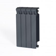 Биметаллический радиатор RIFAR Monolit 500 4 сек. Титан (RAL 7012 серый)