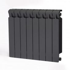 Биметаллический радиатор RIFAR Monolit 500 8 сек. Титан (RAL 7012 серый)
