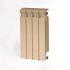 Биметаллический радиатор RIFAR Monolit 500 4 сек. Айвори (RAL 1013 бежевый)