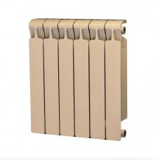 Биметаллический радиатор RIFAR Monolit 500 6 сек. Айвори (RAL 1013 бежевый)