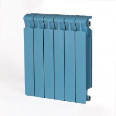 Биметаллический радиатор RIFAR Monolit 500 6 сек. Сапфир (RAL 5024 синий)