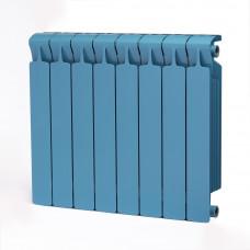 Биметаллический радиатор RIFAR Monolit 500 8 сек. Сапфир (RAL 5024 синий)
