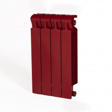 Биметаллический радиатор RIFAR Monolit 500 4 сек. Бордо (RAL 3011 красный)